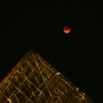 皆既月食・ガラスのピラミッド